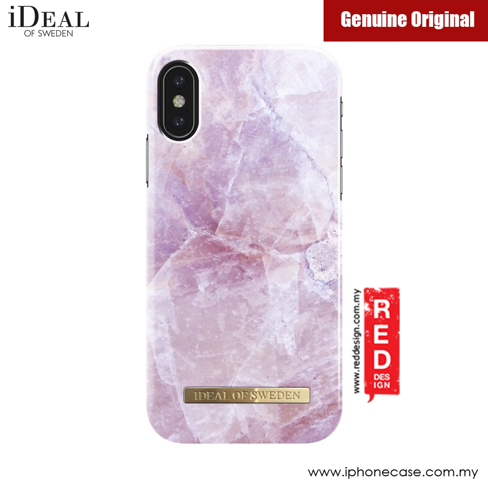new style eefee bede5 iDeal of Sweden Fashion Case for Apple iPhone X (Pilion Pink Marble)