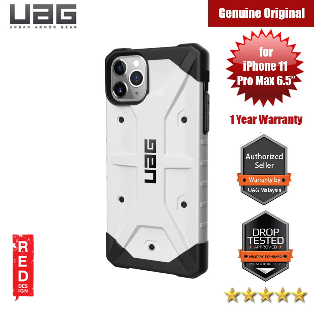 UAG Pathfinder Drop Protection Case for Apple iPhone 11 Pro Max 6.5 (White)