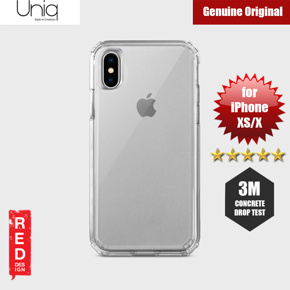 sports shoes 83d2e 5688b Uniq Clarion Drop Protection Case for Apple iPhone XS iPhone X (Clear)