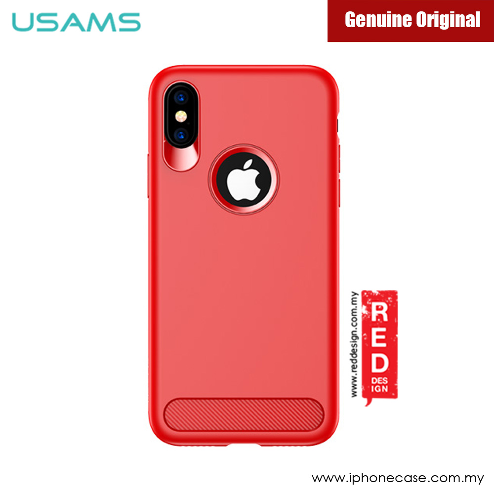 Apple Iphone X Uag Otterbox Spigen Ringke Cover Case Casing And Air Skin Black Picture Of Usams Muze Series Protection For Red